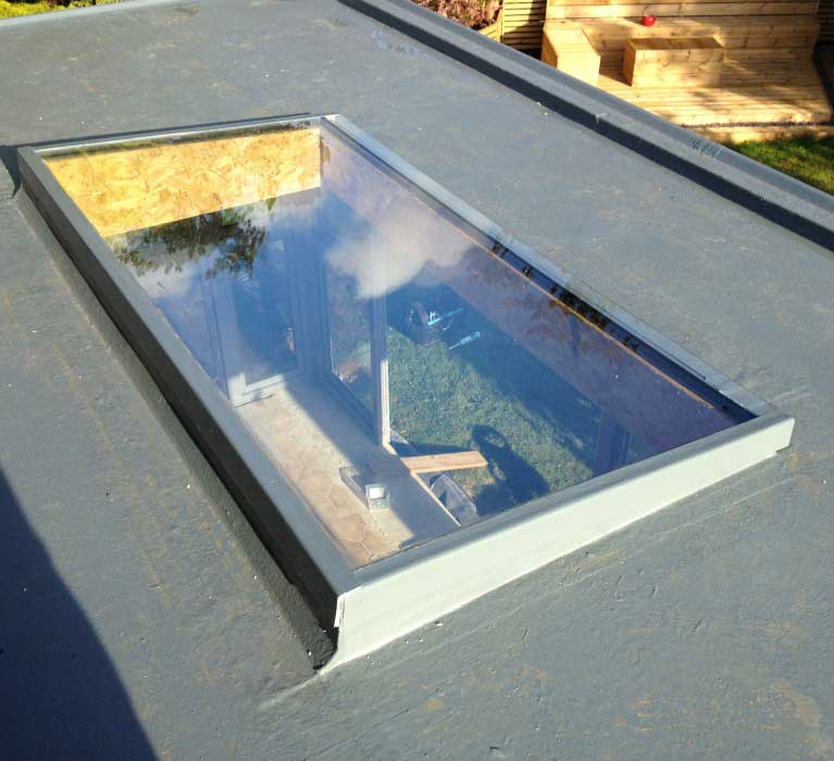 Finished Garden Room with GRP Roofing